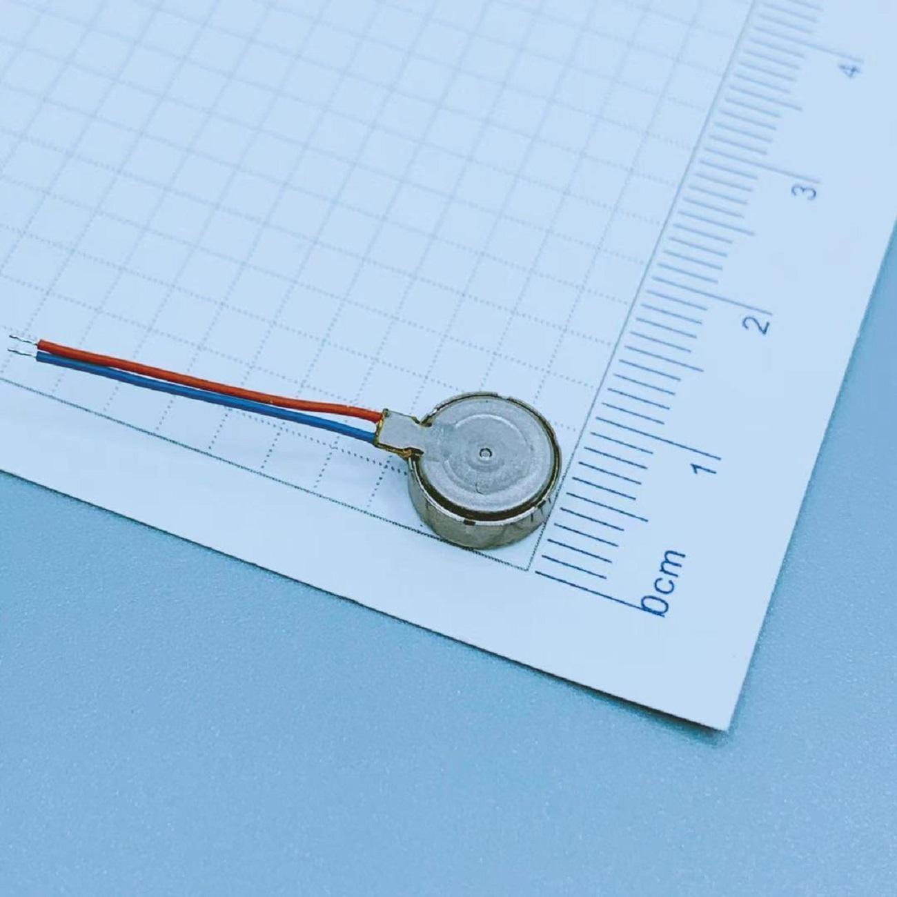 Diameter 8mm*3.4mm Small Vibrating Motors | Round Vibrator | LEADER