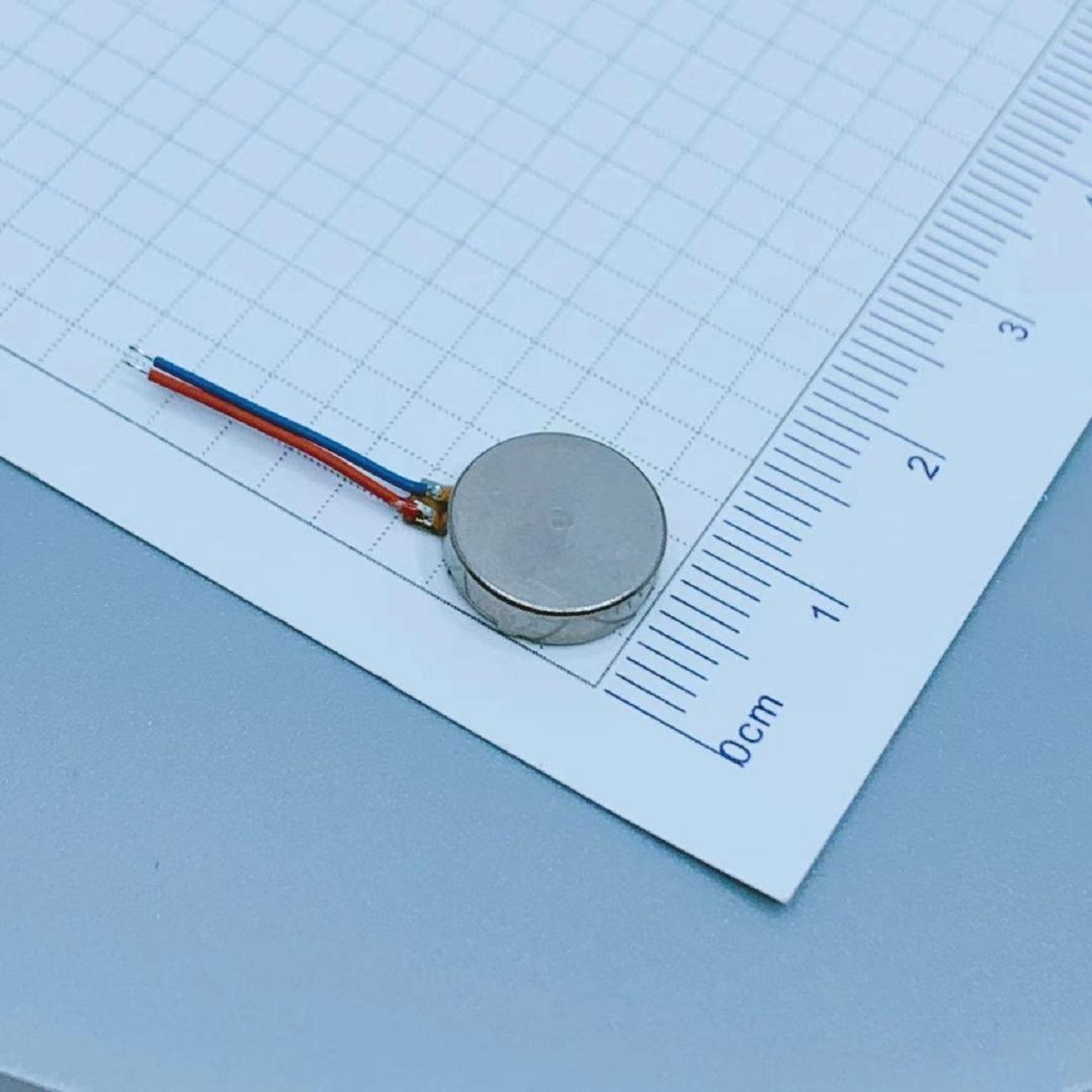 Dia 10mm*2.7mm Micro Vibration Motors | Miniature Space Pancakes | LEADER LCM-1027