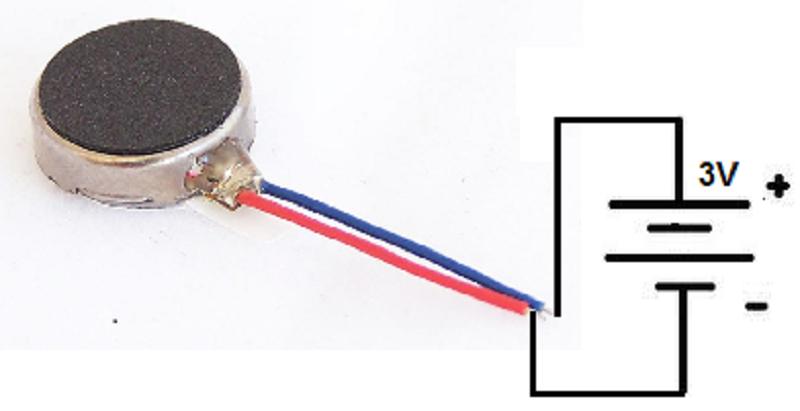 8mm Mini Vibrating Motor
