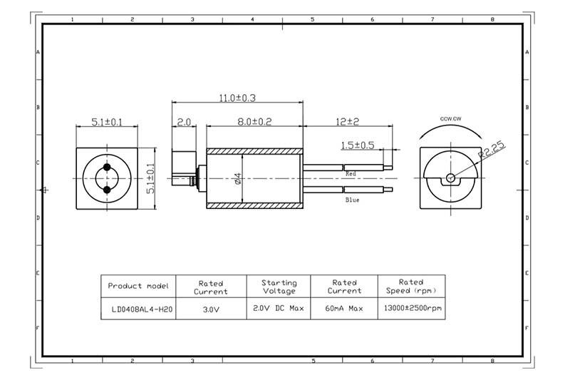 micro motor dc